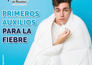 PRIMEROS AUXILIOS PARA LA FIEBRE