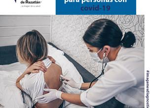 ATENCIÓN DOMICILIARIA PARA PERSONAS CON COVID-19