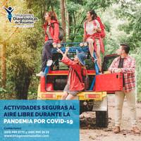 ACTIVIDADES SEGURAS AL AIRE LIBRE DURANTE LA PANDEMIA POR COVID-19