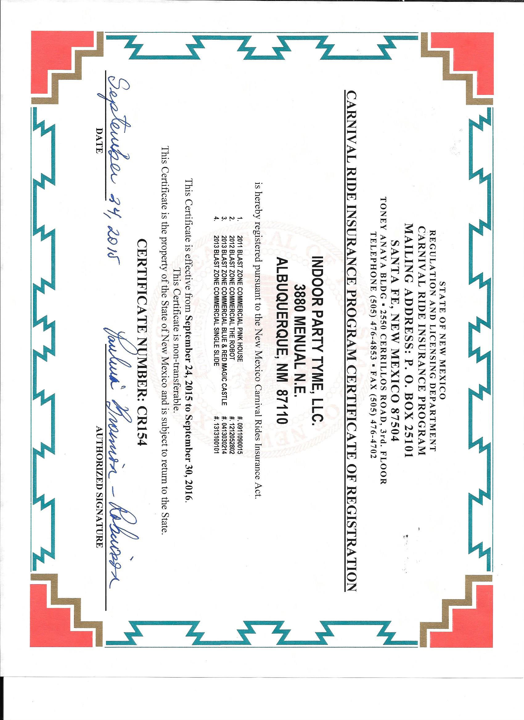 State Certified & Approved