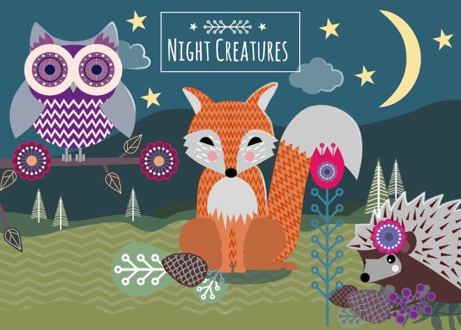 Night Creatures - kids sleep trainer