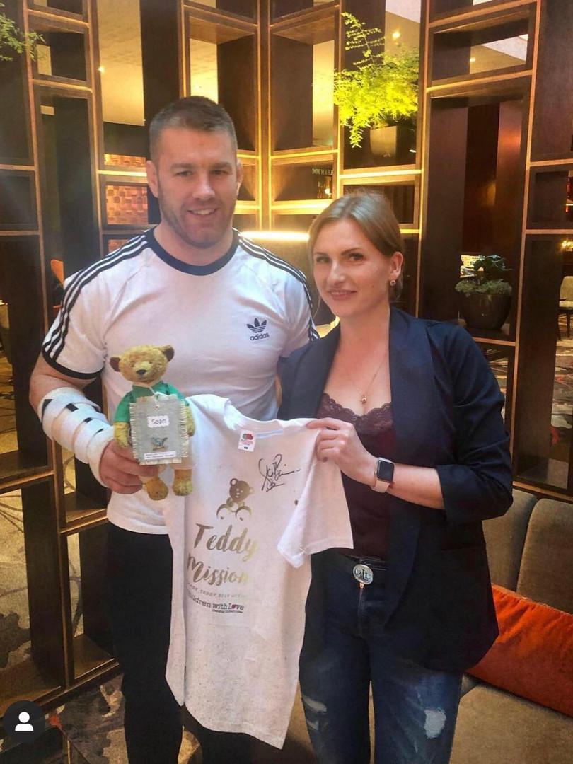 Irish Rugby Star - Sean O'Brien & Alexa Dee