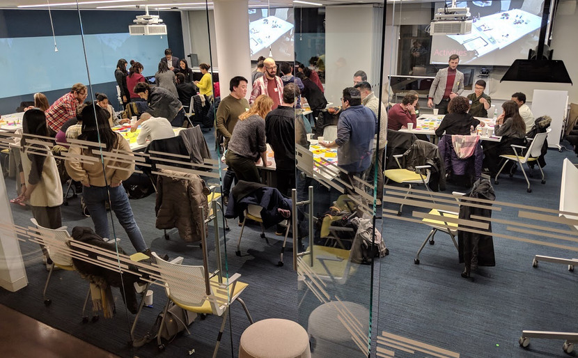 Space Design Workshop in Session