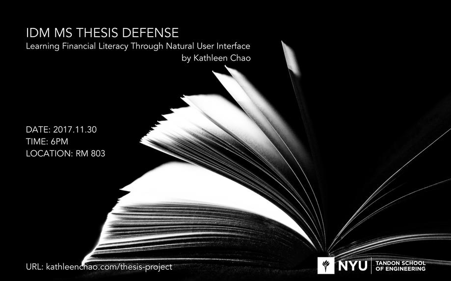 Week 13 | Thesis Defense