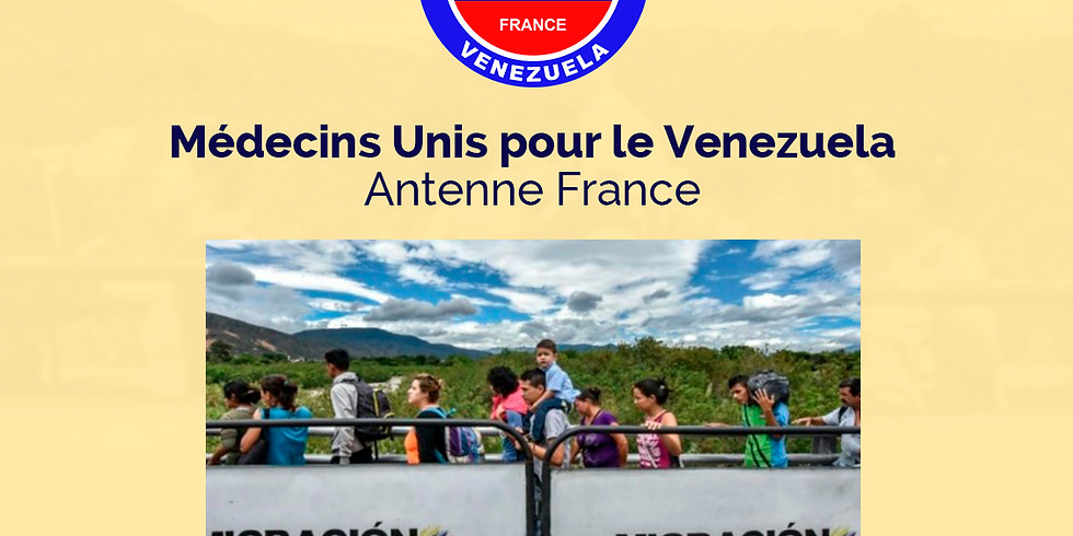 """French Conference """"The health crisis in Venezuela: Exile and Mental Health"""""""