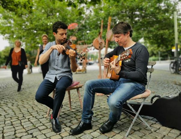 Alexander Kens Gittare Olexander Bersutsky Geige