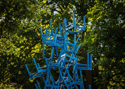 Der Turm der blauen Herde