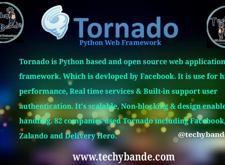 Tornado :- Web Server