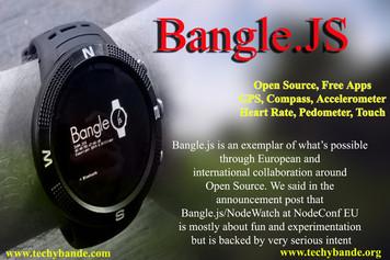 Bangle.js - A Hackable Smartwatch Powered by Google's TensorFlow
