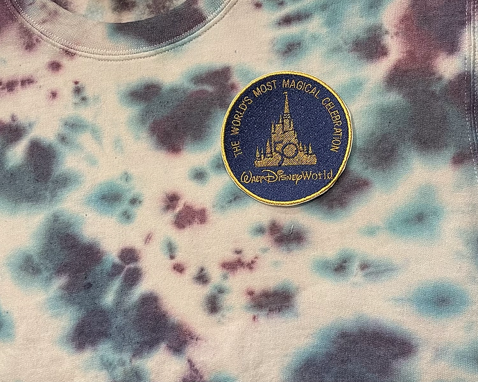 The 50th Sweatshirt (Blue/Gold Patch)