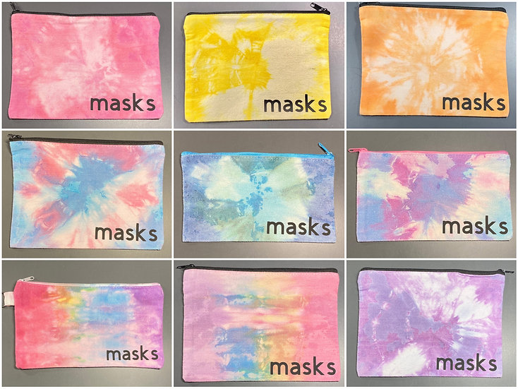 Custom Mask Case - Tie-Dye