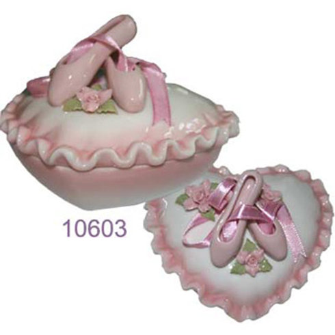 10603 Porcelain Trinket Box