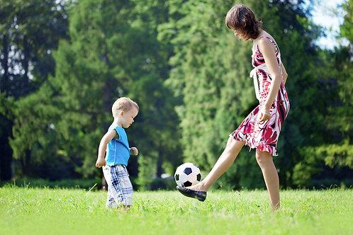 האקדמיה לכדורגל מסלול משפחתי  ילד שני כולל ביטוח שנתי