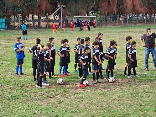 האקדמיה לכדורגל מסלול משפחתי  ילד שלישי כולל ביטוח שנתי