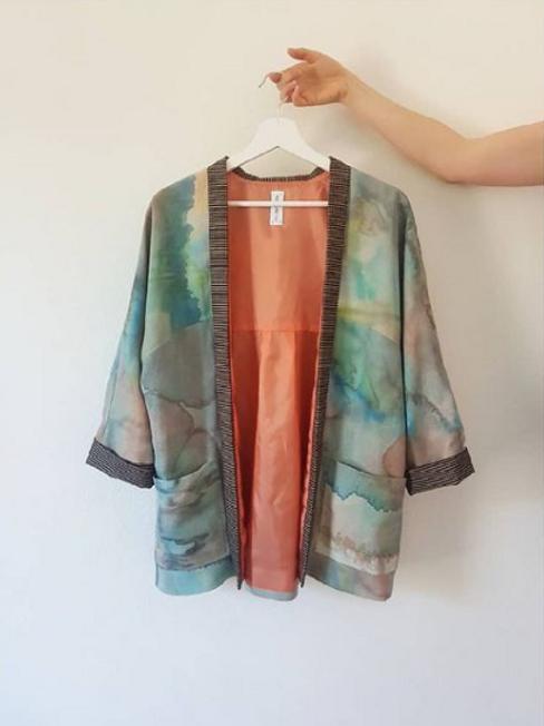 Kimono Soie