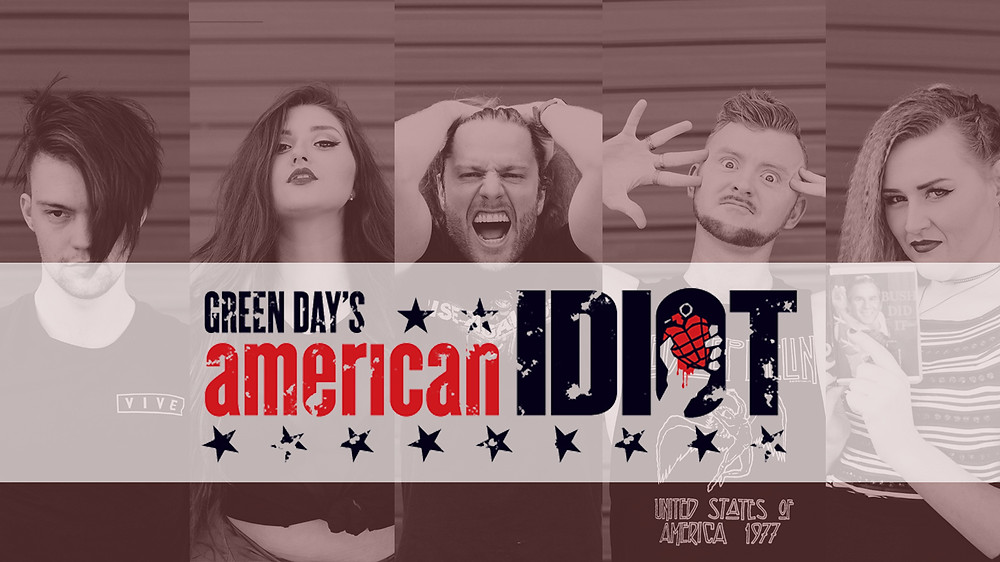 Cast of Green Day's AMERICAN IDIOT