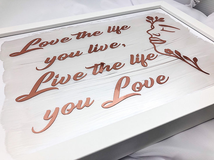 Love & Motivation -Shadow Box