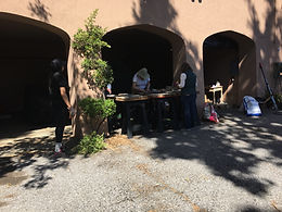 Garden Day at the Jesuit Retreat Center