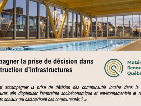 Webinaire : Accompagner la prise de décision dans la construction d'infrastructures