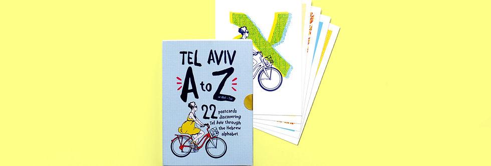 TLV A-Z Postcards Bundle