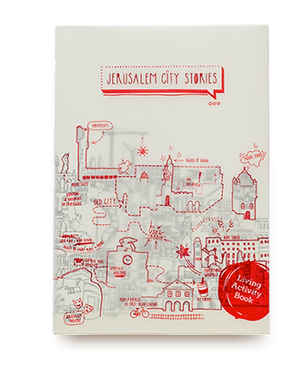Jerusalem City Stories city guide for creative travellers