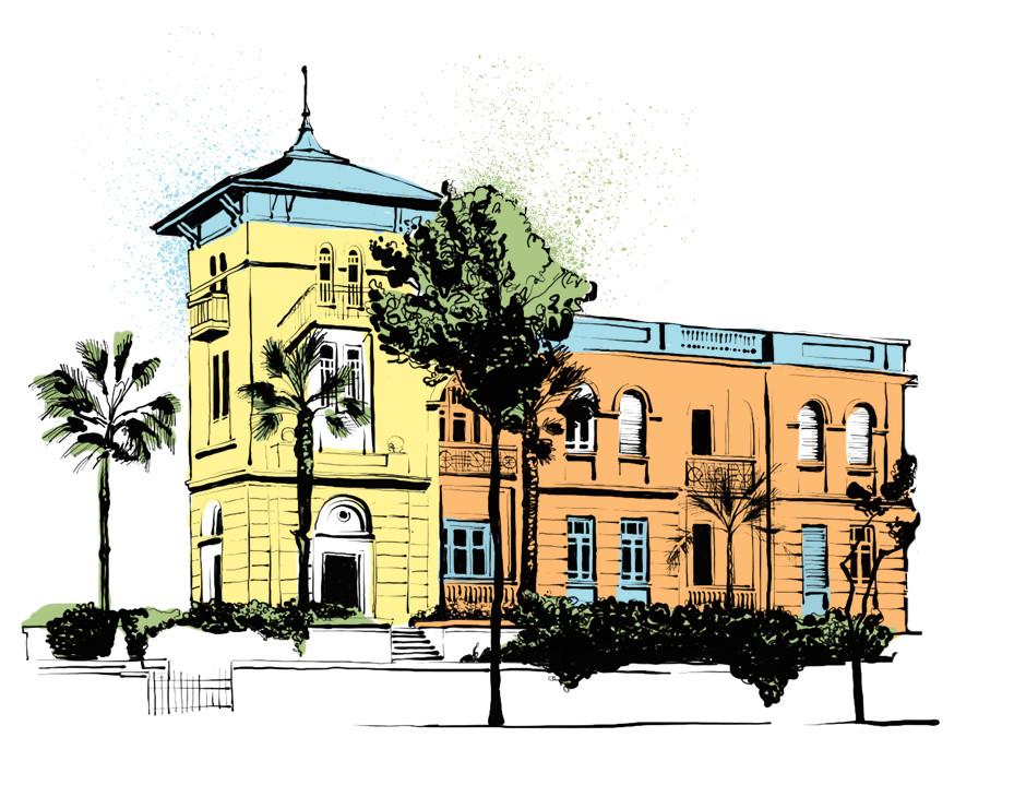 Levin House Rothschild Tel Aviv