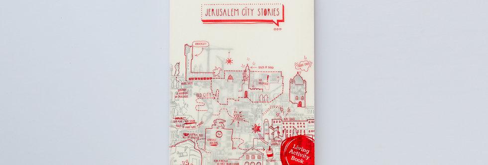 book cover jerusalem alternative routes old city university jaffa street