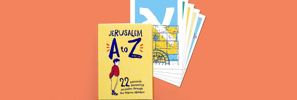 Jerusalem A-Z Postcards Bundle
