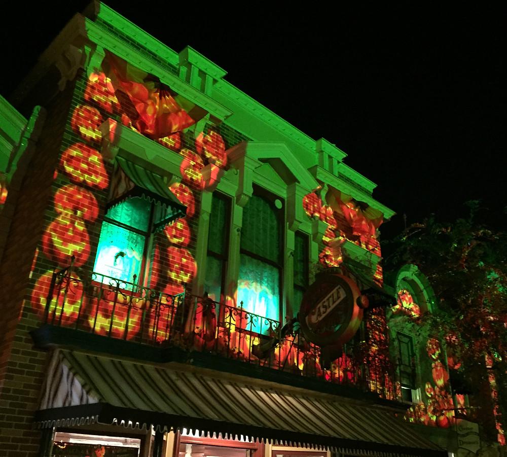 Main Street, Disneyland Screen Projections