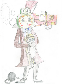 Anime Mr. Toad