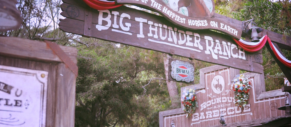 Podcast No. 0003: Restaurants we Love and Loved at Disneyland