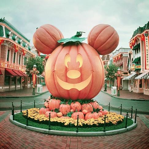 Main Street Pumpkin at Disneyland