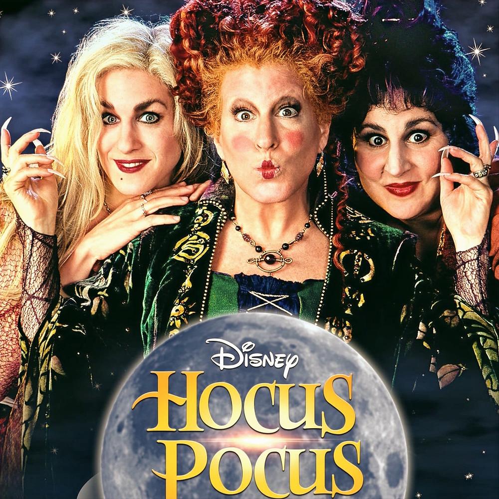 Disney Hocus Pocus Movie Poster