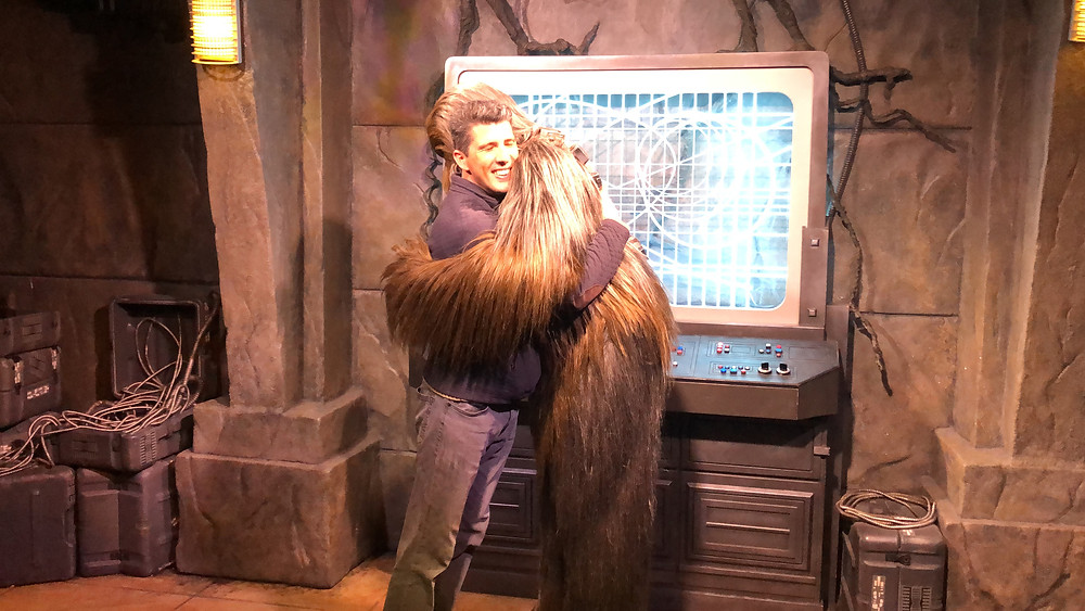 Hollywood Studios Chewbacca Meet and Greet