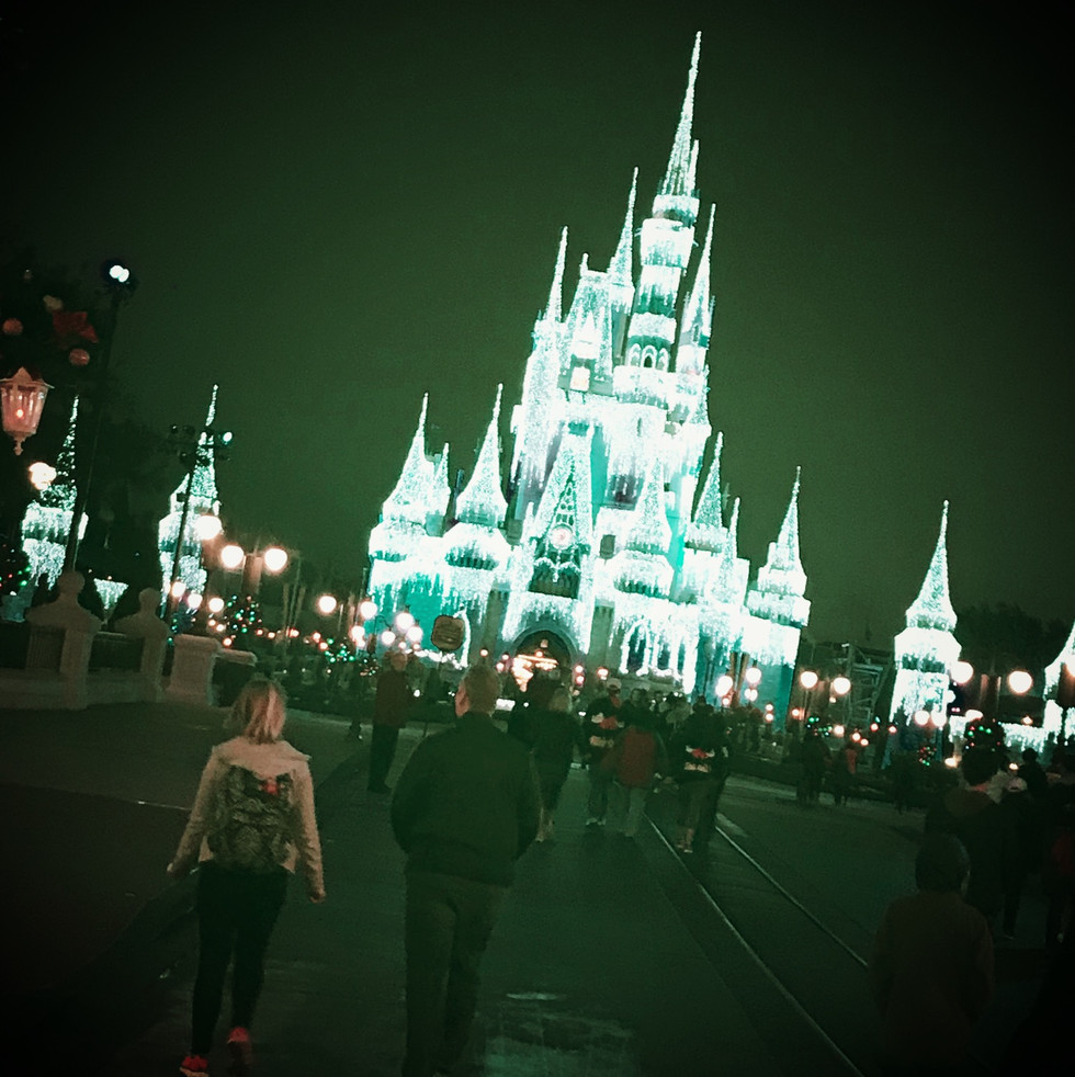 Podcast No. 0011: The Magic of the Magic Kingdom at Christmas Time