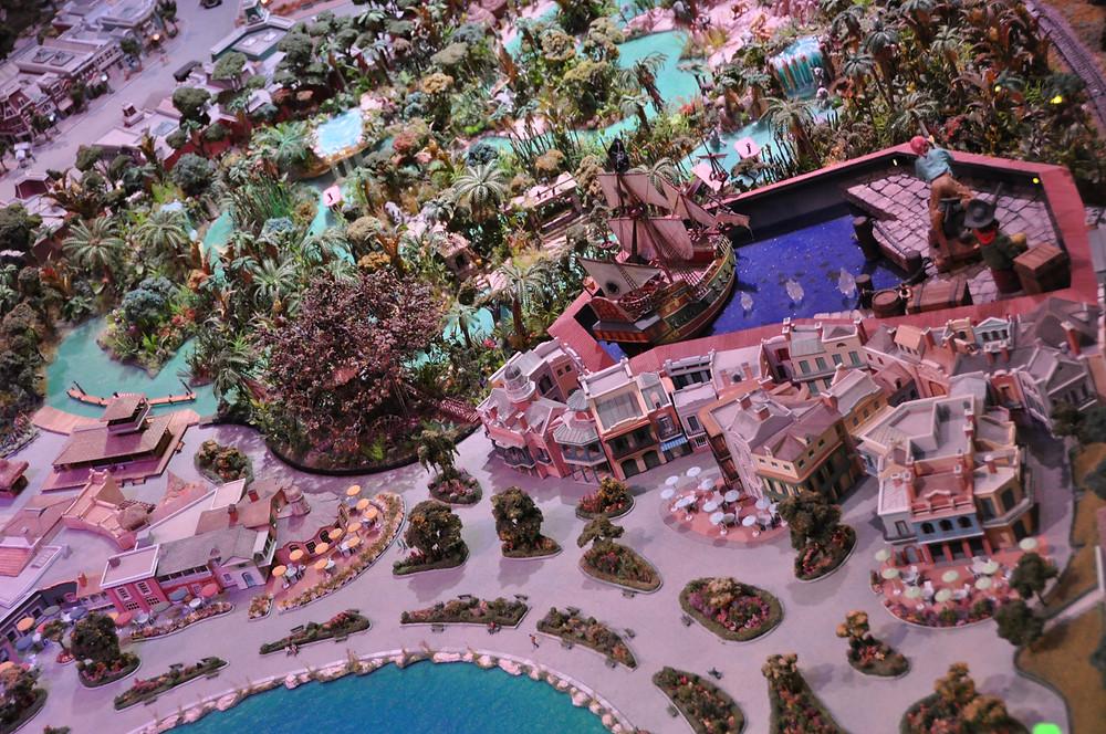 Disneyland 3D Map