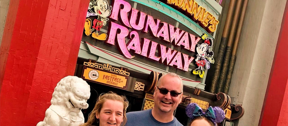 Podcast No. 0032: Break the fourth wall on the Mickey and Minnie Runaway Railway