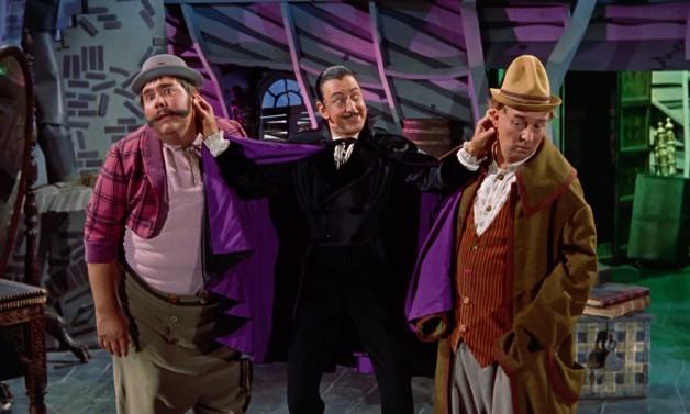 Barnaby with Gonzorgo and Roderigo