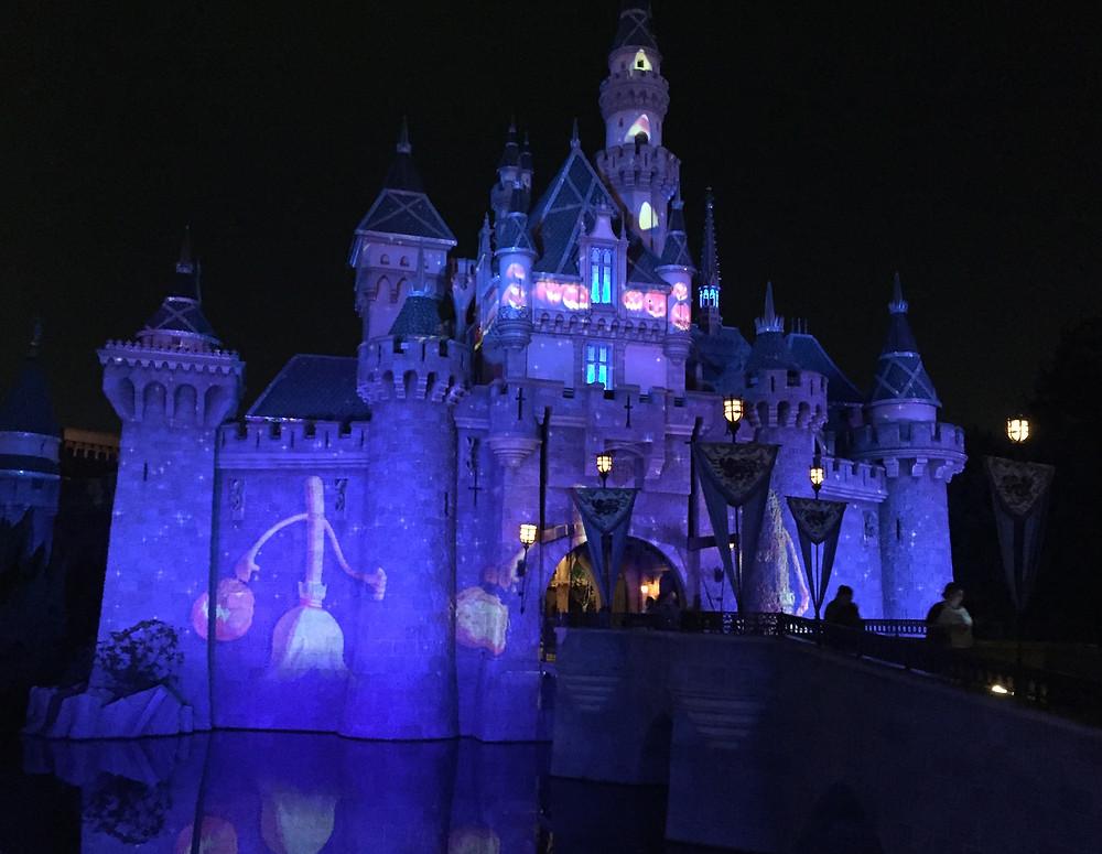 Sleeping Beauty Castle, Disneyland Screen Projections