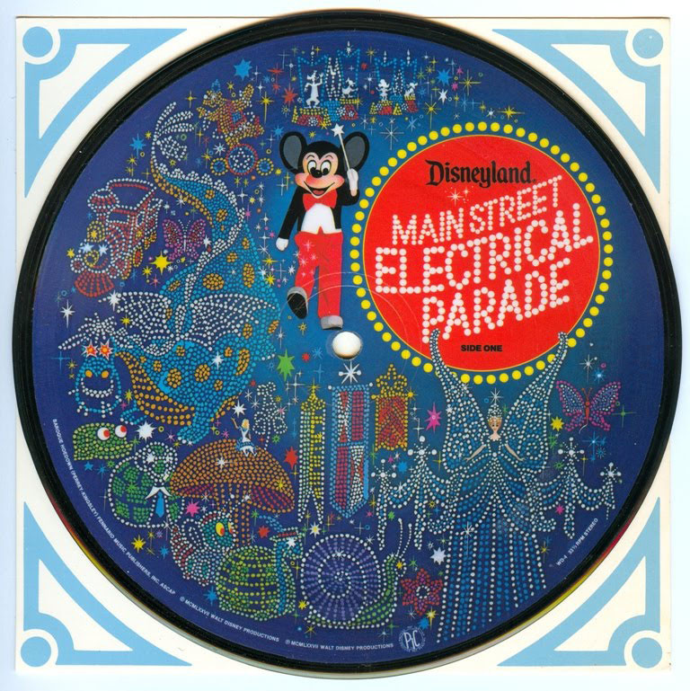 Main Street Electrical Parade Record from 1977