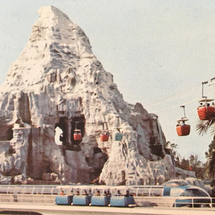 Matterhorn Bobsleds from the 1960s