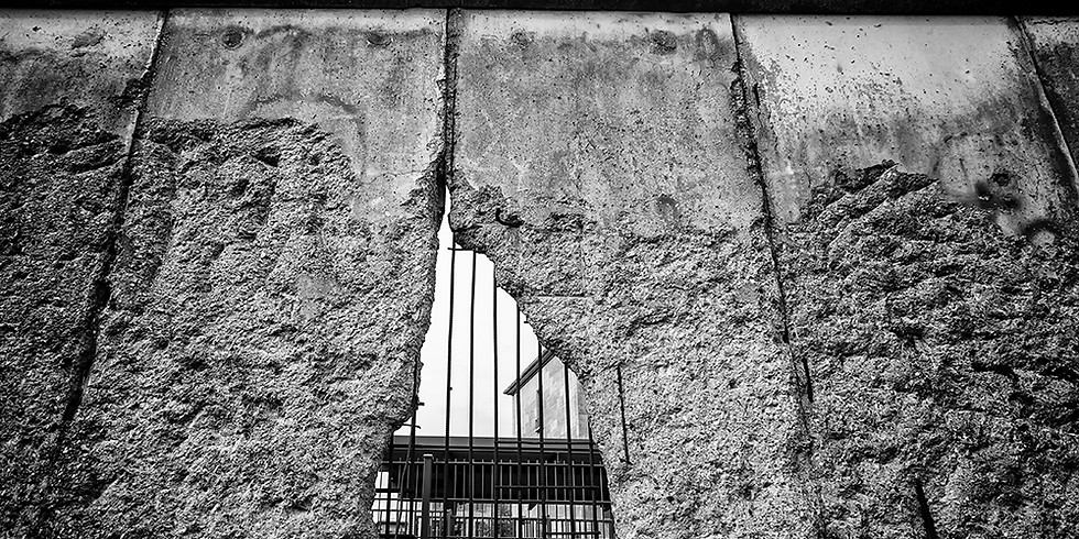 THE LOST ART OF THE BERLIN WALL
