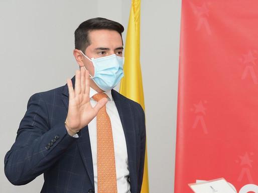 Anderson Acosta Torres nuevo Alcalde (E) de la localidad de Fontibón