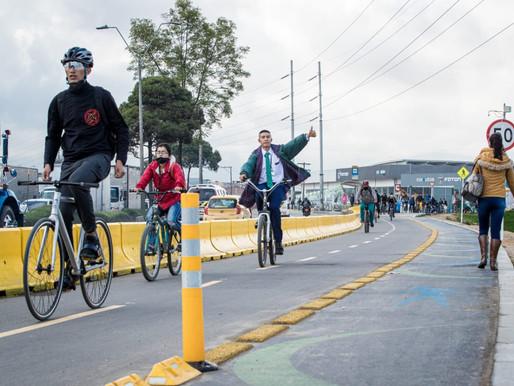 ¡Más de 7.400 ciclistas ya se benefician con la nueva franja ciclo-peatonal de la calle 13!