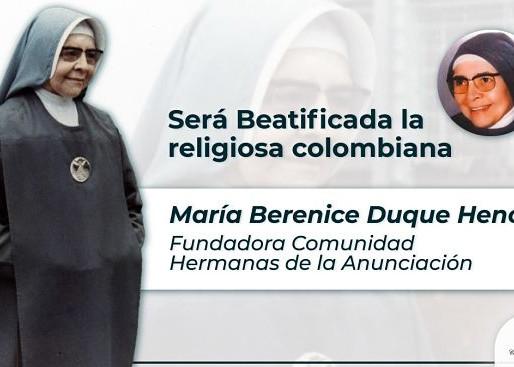 Nueva Beata colombiana y consulta pontificia