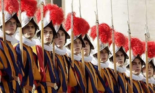 515 años de la Guardia Suiza Pontificia