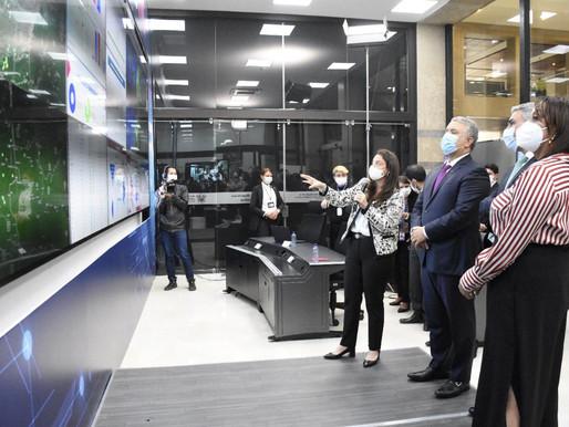 'Colombia estaría por encima del 70 % de conectividad en 2022': Presidente Iván Duque