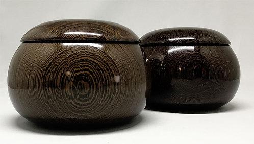木製碁笥 タガヤサン 特大