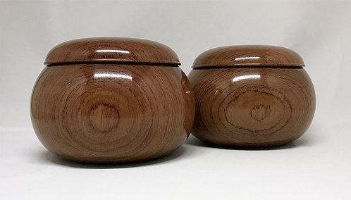 木製碁笥 花林 超特大