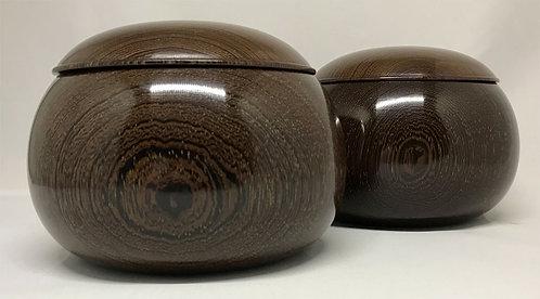 木製碁笥 タガヤサン 超特大